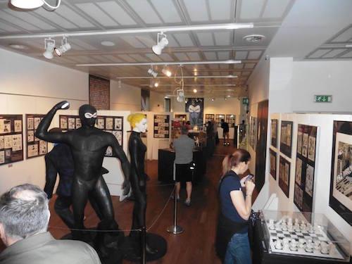 Museo WOW, parte della Mostra Diabolik. Fonte: Wow